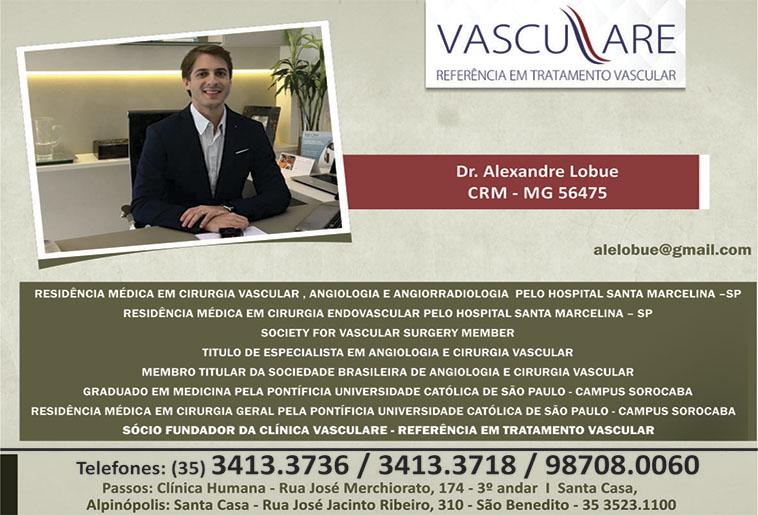 Dr. Alexandre Lobue - CRM/MG - 56475