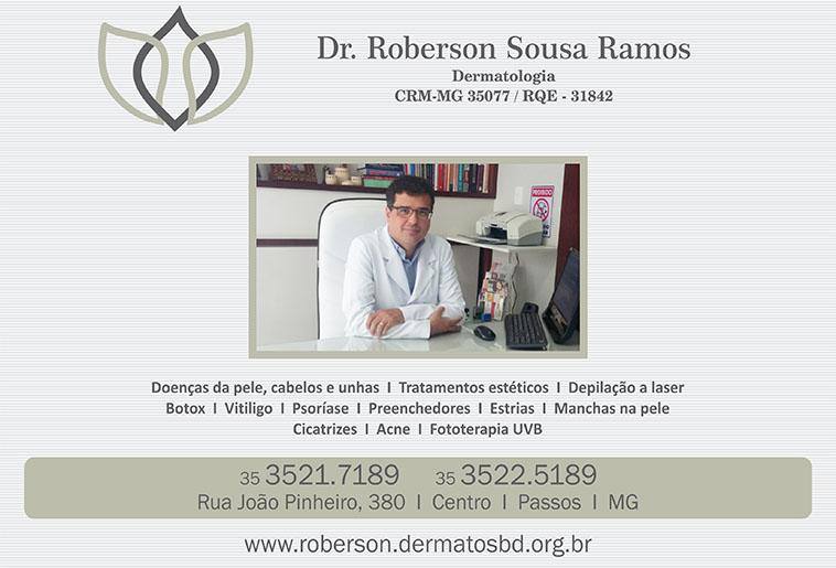 Dr. Roberson Sousa Ramos - CRM/MG - 35077