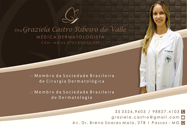 Dra. Graziela Castro Ribeiro do Valle - CRM/MG 46073