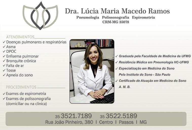 Dra. Lúcia Maria Macedo Ramos