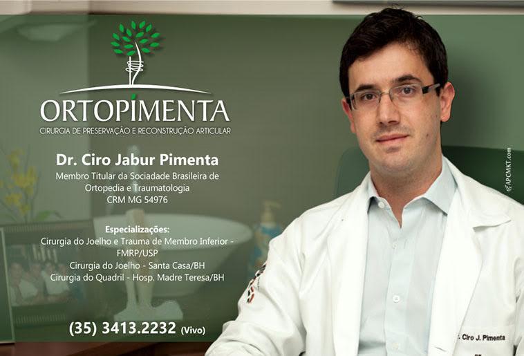 Ortopimenta - Dr. Ciro Jabur Pimenta - CRM/MG - 54976