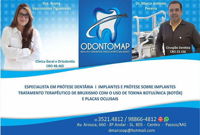 Dr. Marco Antônio Pereira - Odontomap - CRO - 23158