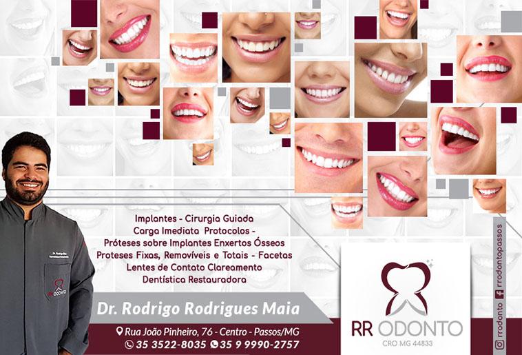 Dr. Rodrigo Rodrigues Maia - RR Odonto - CRO/MG - 44833