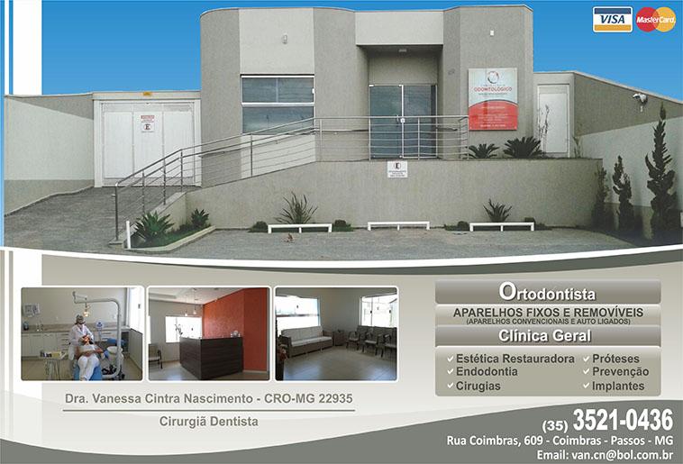 Dra. Vanessa Cintra Nascimento - CRO/MG - 22935