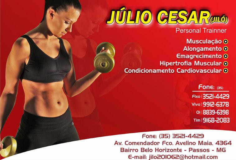 Júlio César - Jiló - Personal Trainer