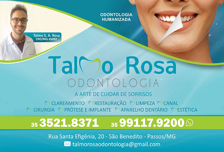 Dr. Talmo Rosa - CRO/MG - 45892