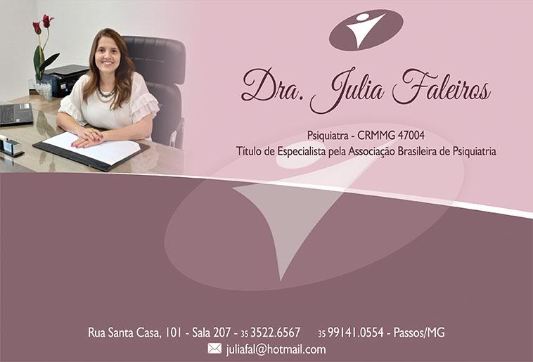 Dra. Julia Faleiros - CRM/MG - 47004