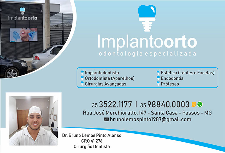 Dr. Bruno Lemos Pinto Alonso - Implantoorto