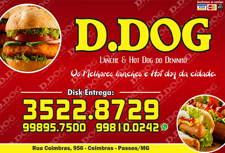 D.Dog Lanche e Hot Dog do Deninho