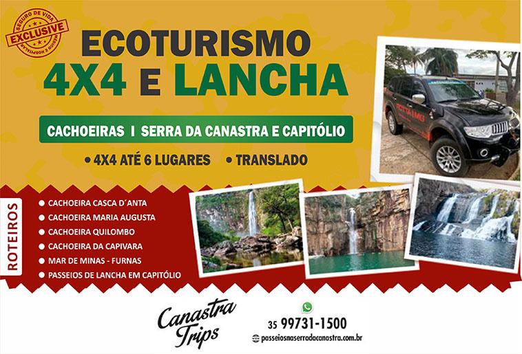 Ecoturismo 4X4 e Lancha