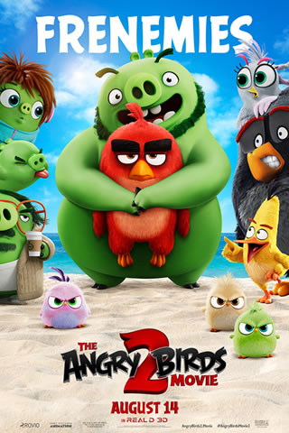 Programação Cine Roxy Passos MG - Angry Birds 2
