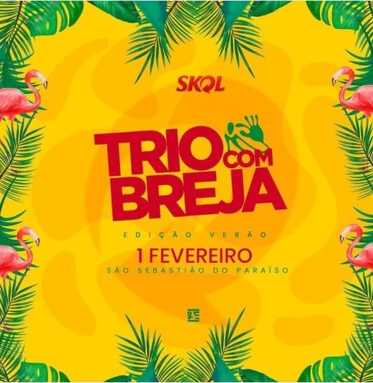 Trio com Breja 2020 - São Sebastião do Paraíso MG.