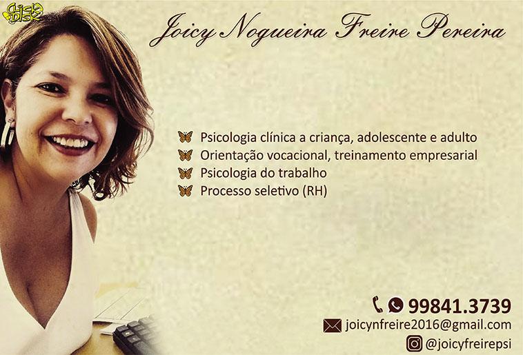 Dra. Joicy Nogueira Freire Pereira