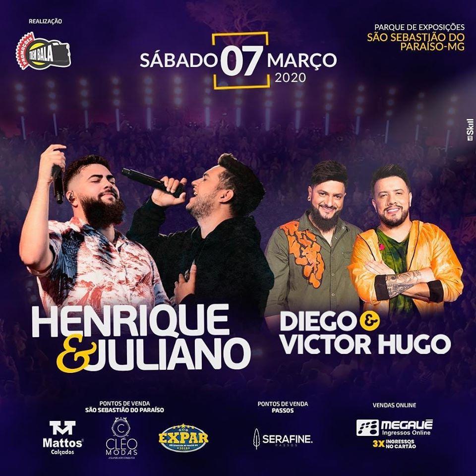 Diego e Victor Hugo São Sebastião do Paraíso MG.