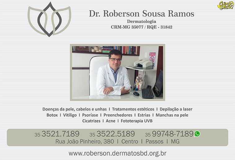 Dr. Roberson Sousa Ramos - Dermatologista