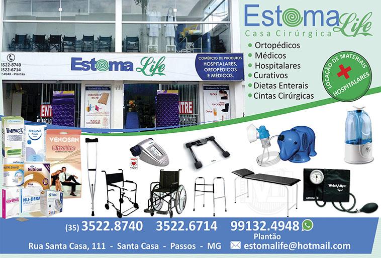 Estomalife Comércio de Produtos Ortopédicos Médicos e Hospitalares