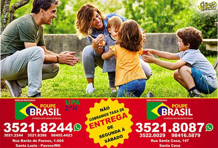 Farmácia Poupe Brasil - Barão de Passos