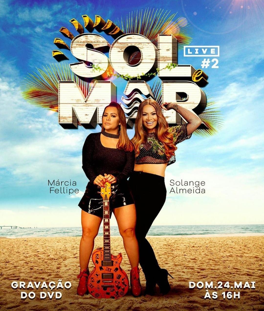 Live Solange Almeida e Márcia Fellipe