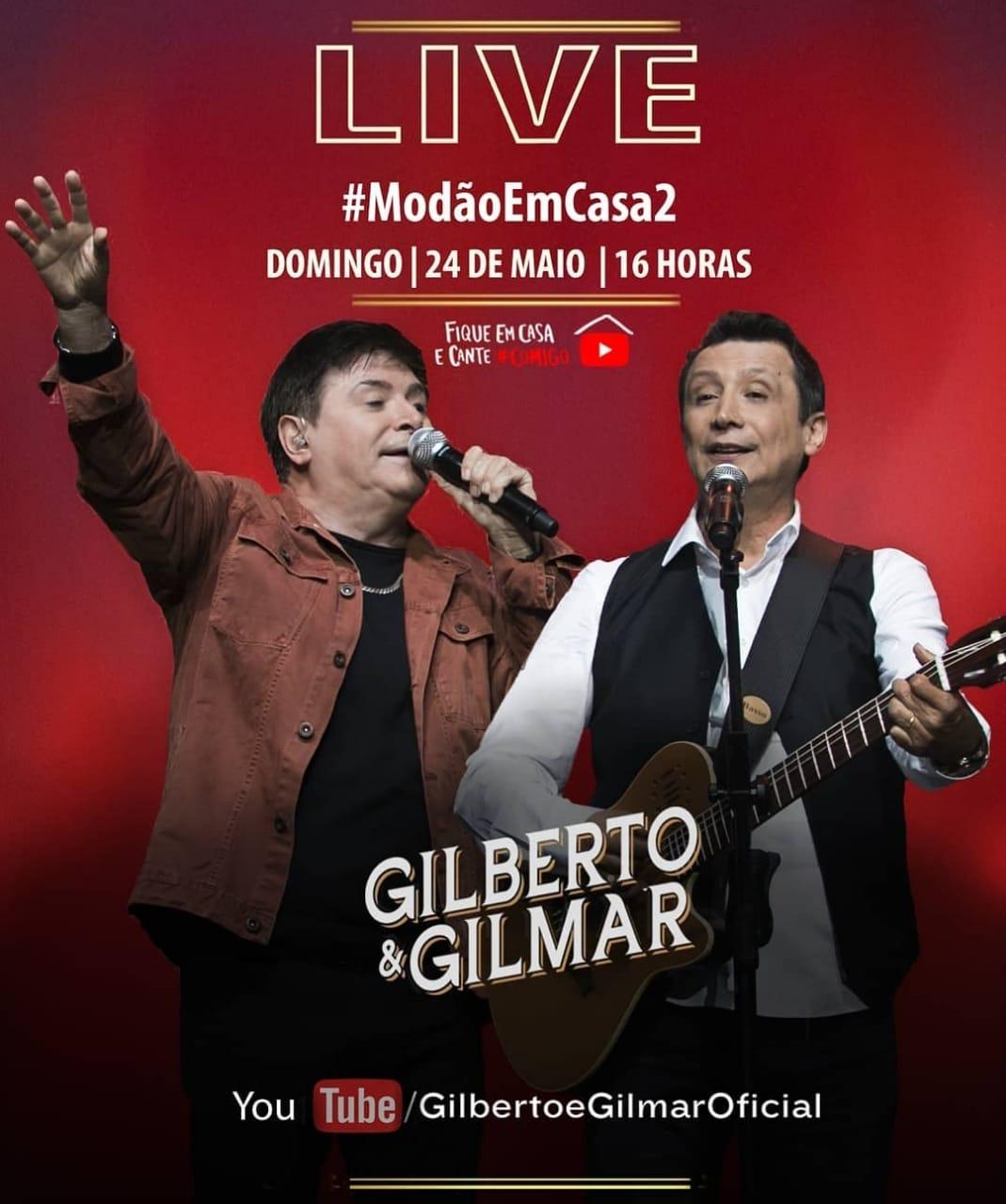 Live Gilberto e Gilmar