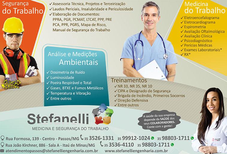Stefanelli Medicina e Segurança do Trabalho