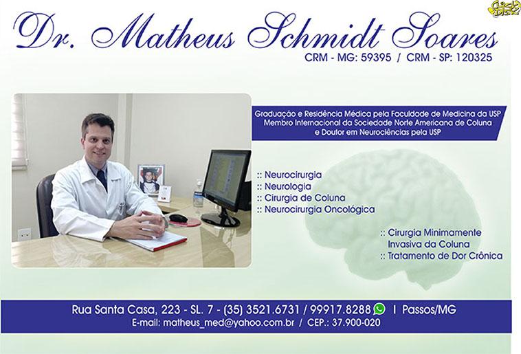 Dr. Matheus Schmidt Soares - CRM - 59395