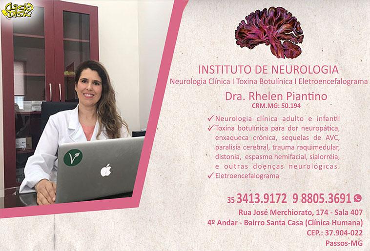 Dra. Rhelen Piantino - CRM/MG 50194