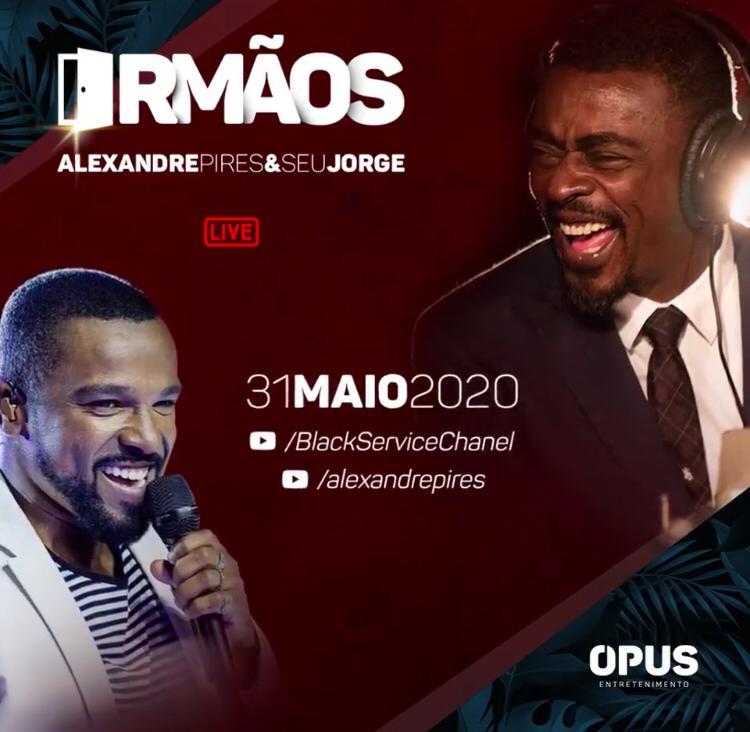 Live Alexandre Pires e Seu Jorge