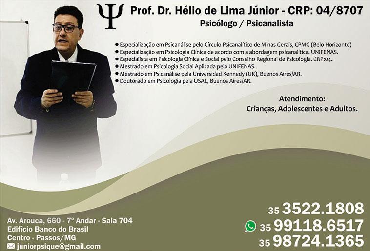 Dr. Prof. Hélio de Lima Júnior