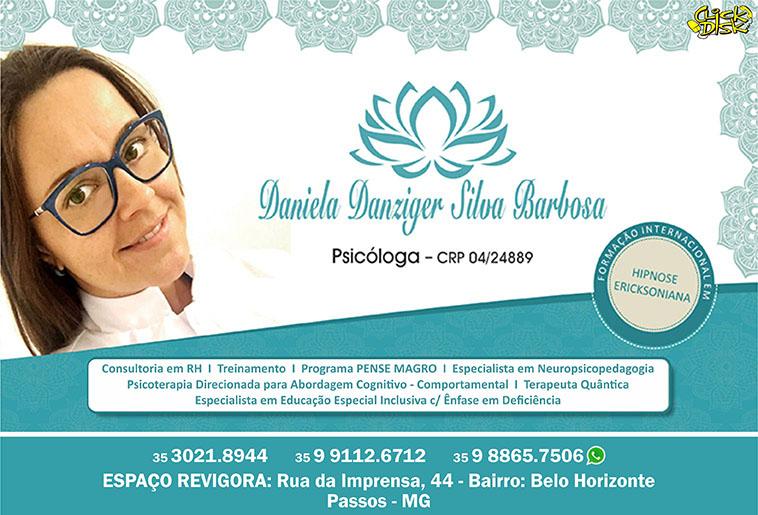Daniela Danziger Silva Barbosa - CRP 04/24889