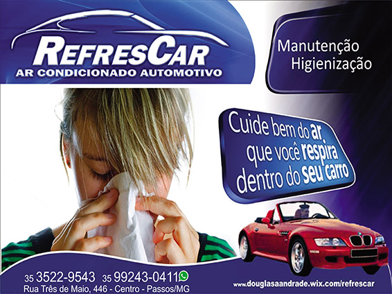 Refrescar Ar Condicionado Automotivo