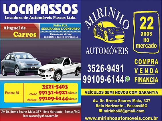 LocaPassos - Locadora e Venda de Veículos (Mirinho)