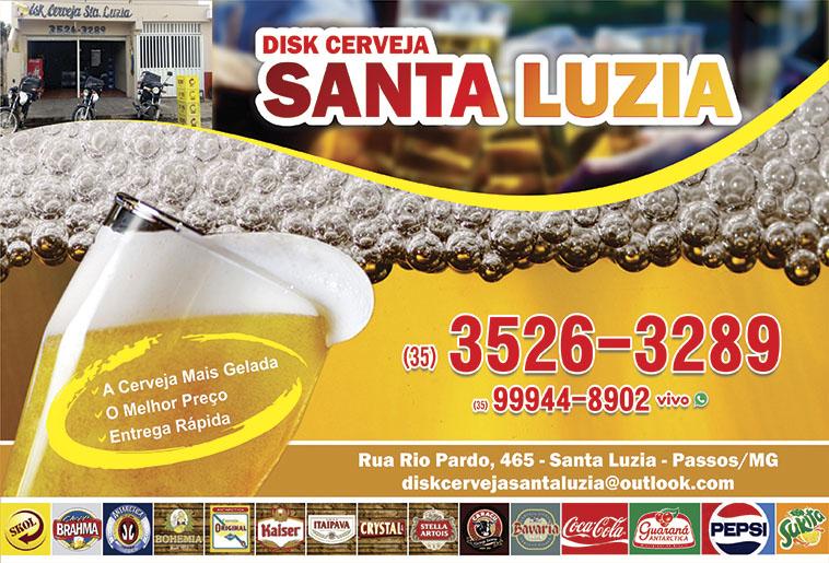 Disk Cerveja Santa Luzia