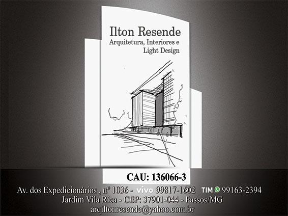 Ilton Resende - Arquiteto e Design de Interiores