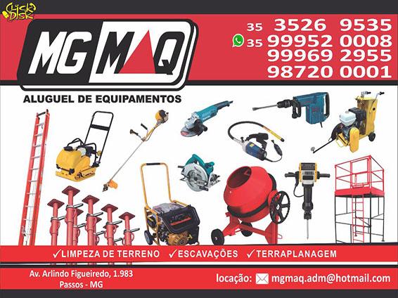 MG Maq Aluguel de Equipamentos