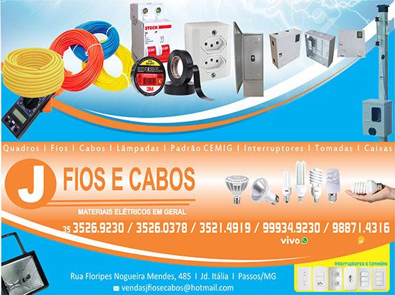 J Fios e Cabos - Materiais Elétricos em Geral