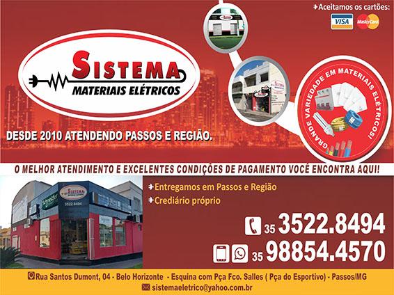 Sistema Materiais Elétricos