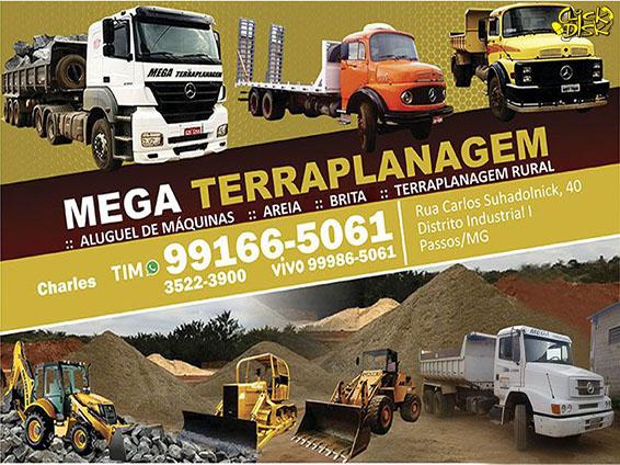 Mega Terraplanagem e Transporte
