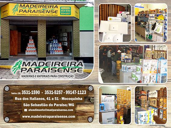 Madeireira Paraisense - Madeiras e Materiais de Construção