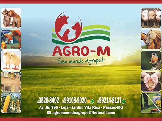 Agro-M / AgroPet - Rações, Ferramentas, Medicamentos
