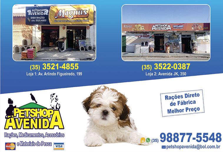Pet Shop Avenida - Rações, Medicamentos, Acessórios (loja 1)