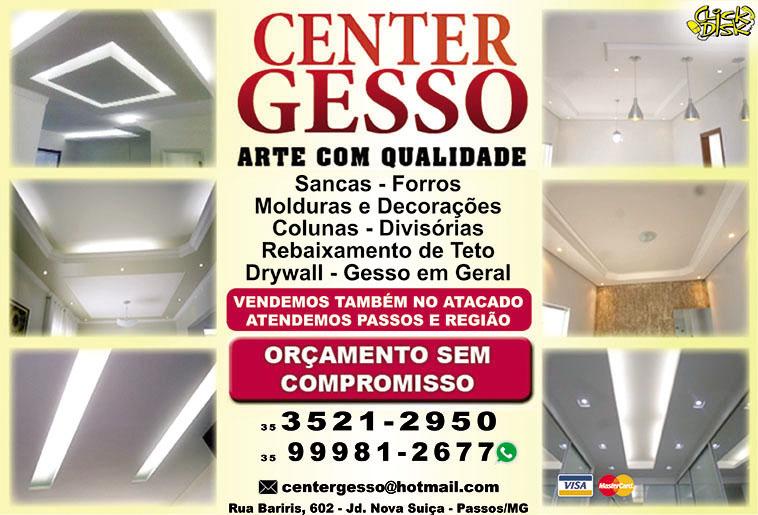 Center Gesso