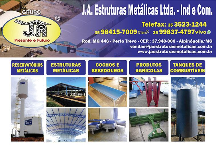 JA Estruturas Metálicas