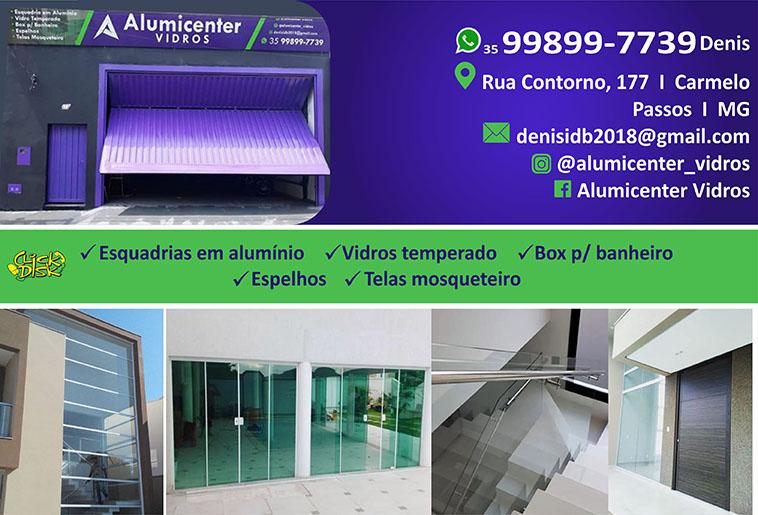 Alumicenter Vidros e Esquadrias de Alumínio