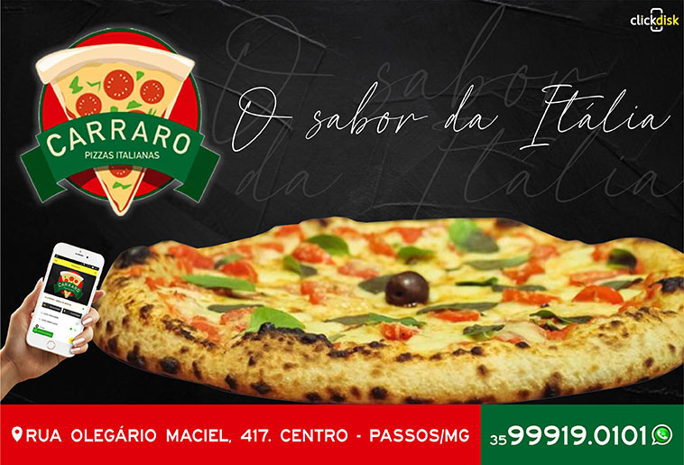 Carraro Pizzas Italianas