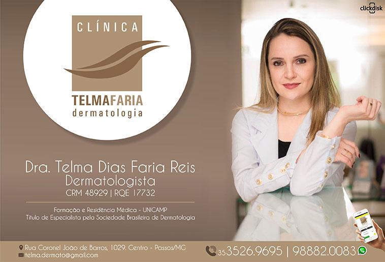 Clínica Dermatológica Dra Telma Dias Faria Reis