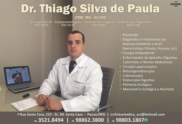 Dr. Thiago Silva De Paula