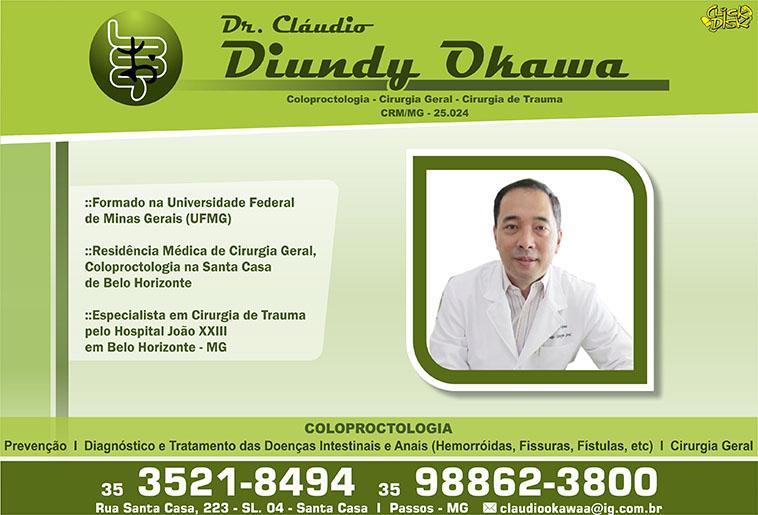 Dr. Cláudio Diundy Okawa