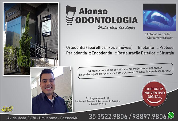 Alonso Odontologia - Dr. Jorge Alonso P Júnior