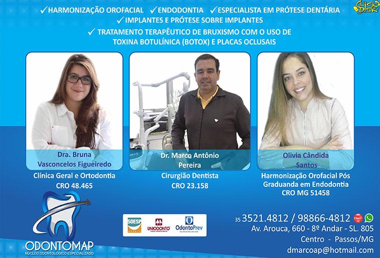 Dr. Marco Antônio Pereira - Odontomap