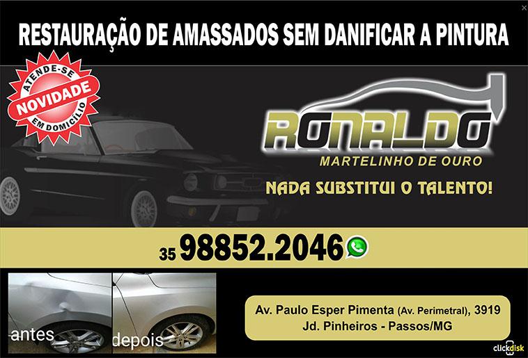 RONALDO MARTELINHO DE OURO